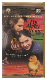 Fly Away Home VHS tape